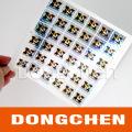 Custom Printed Packaging Label Anti-Counterfeit Vinyl Hologram Sticker