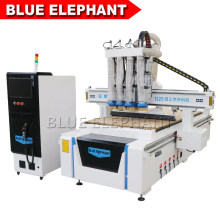 1325 Multi Spindle 4 Axis Wood CNC Router for Metal Cutting, Aluminum
