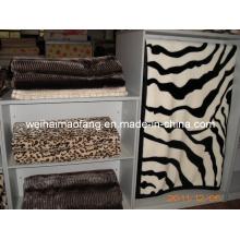 Korean Warp Knitted Raschel Mink 100%Acrylic Blanket
