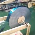 Blue Aluminum Extrusion Profiles Fin Strip
