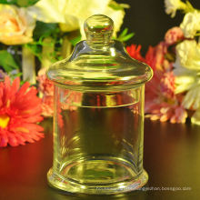 Glass Candy Jar with Glass Lid