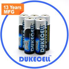 Alkaline Battery Lr6 Size AA Am3 1.5V Battery