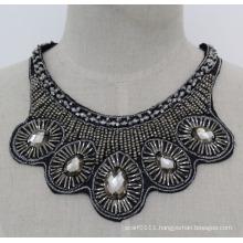 Lady Fashion Crystal Chunky Jewelry Necklace Choker Imitation Jewelry (JE0173)
