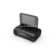 USB 3.0 Dual HDD Docking station with card reader, Supports 2.5/3.5-inch Hard Disk