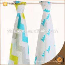 China Manufacture 2ply High Quality Fashion Bamboo Muslin Swaddle