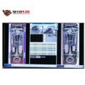 SECUPLUS IP68 weatherproof stationary under vehicle inspection system UVIS