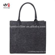 wholesale custom simple elegant felt shopping bag