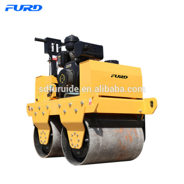 Walk Behind Double tambour vibrant Mini Road Roller Walk Behind Double tambour vibrant Mini Road Roller
