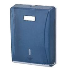 Tenedor de papel plástico montado en la pared al por mayor público decorativo azul marino de lujo del rollo del papel seda