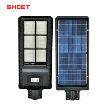All in one Ip65 150w 200W Solar Street Light Solar Power With radar sensor function