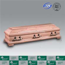LUXES European Wood Coffin For Cremation
