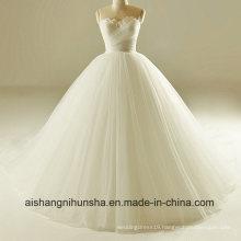 The Bride of The Sexy Princess Strapless Floor-Length Wedding Dress