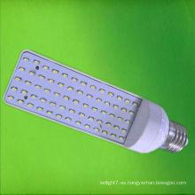 4-perno llevado pl iluminación smd3014 5w LED gx24 plug luz