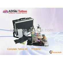2013 venta directa de la fábrica de ADShi kits profesionales del tatuaje del complate