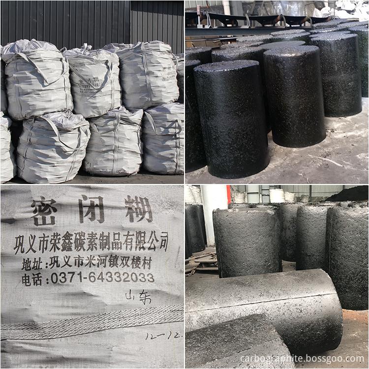 henan gongyi carbon electrode paste for silicon smelting