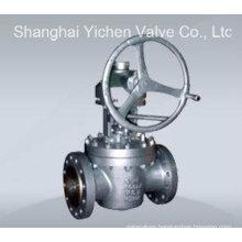 Inverted Lubricated High Pressure Plug Valve