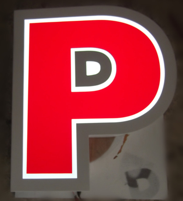 Trimless Frontlit Channel Letter Sign