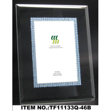 Black Acrylic Glass Photo Frame