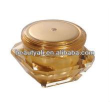 Acrylic Cosmetics Cream Jar diamond cosmetic plastic jar