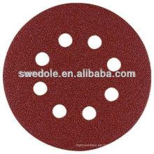 buen rendimiento y discos abrasivos de papel de lijado de precio competitivo