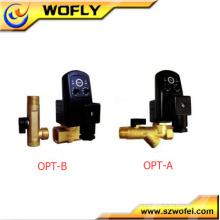 Válvula de solenóide do compressor de ar programado automático 1.0Mpa 24v