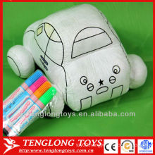 intelligent DIY toys painting fabric toys
