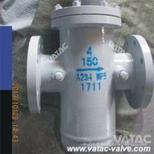 Crépine de panier de panier de filtre du corps Ss316L d'acier au carbone 150lb