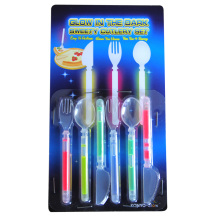 2015 Hot Sale Glow Cutlery for Party Decoration (DCS690)