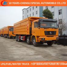 China 8X4 Tipper Truck 30t 35t Dump Truck for Sale