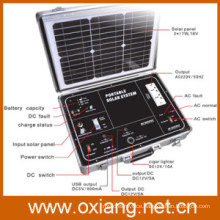 Solar generator for RV camping and outdoor fieldwork