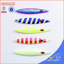 MJL060 alta calidad señuelo de la pesca cebo artificial duro plomo lenta plantilla de metal