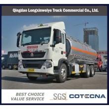 Camión cisterna de aceite HOWO T5g 6X4 336HP