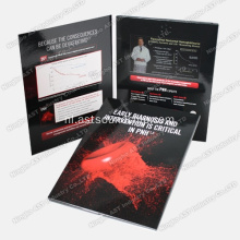 MP4 Player-brochure, advertentiespeler, advertentiespeler