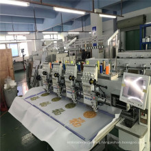 """12 needles Computer Embroidery Machine with 4 heads 8"""" Touch screen computer system"""