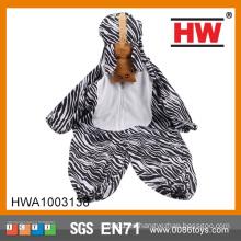 Adorable Bodysuit Jumpsuit Romper Hoodies Trajes de la cebra Niños