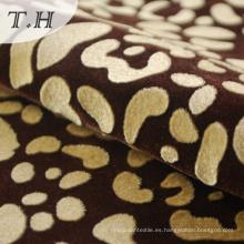 Tela de tapicería flocada clásica con Tc