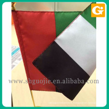 New promotion polyester united nations table flag