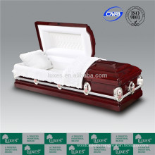 US Wooden Funeral Cremation Casket 2015 New Style