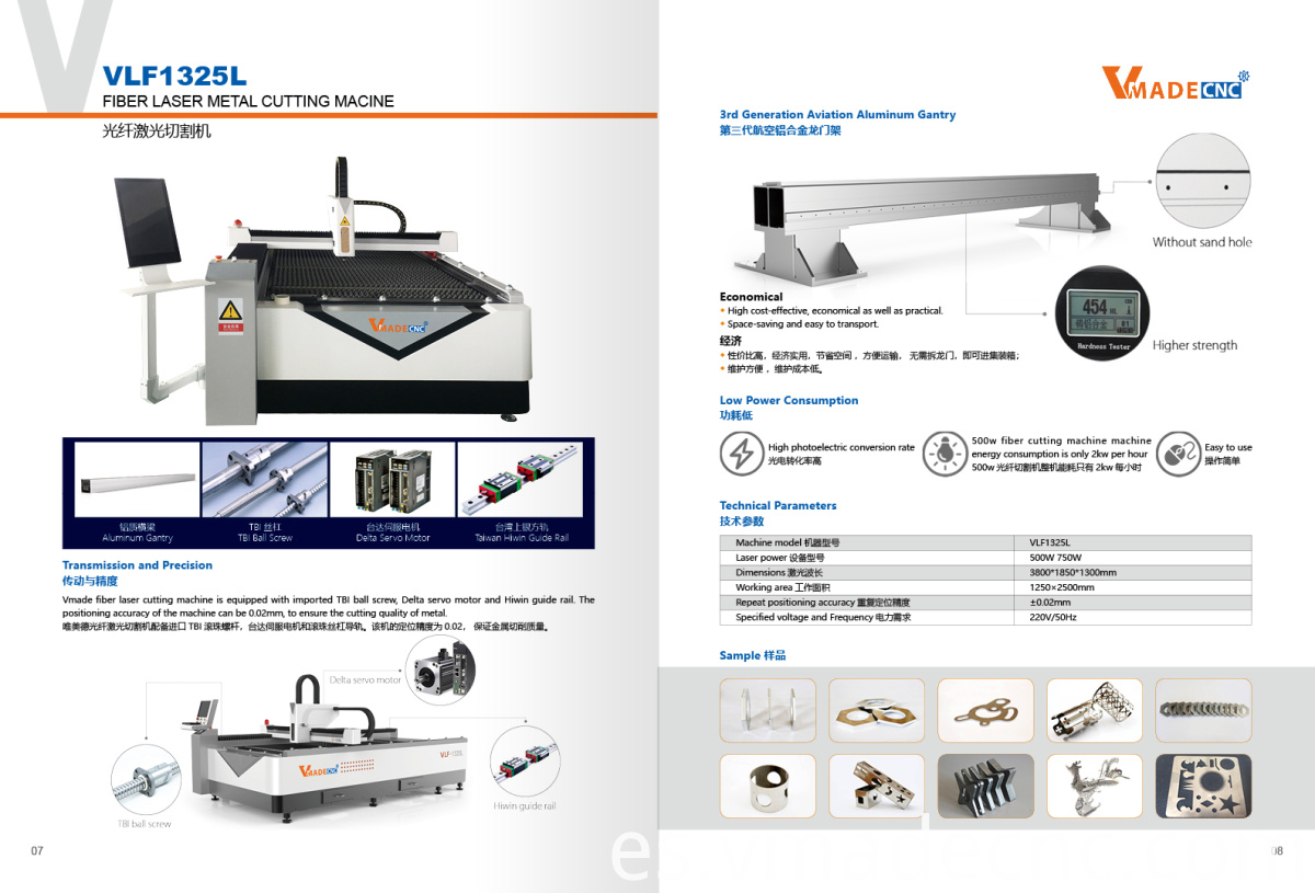VMADE Fiber Laser Cutting Machine