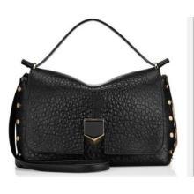 Deep Grain Decro PU Lady′s Handbag (WZX21533)