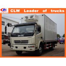 Dongfeng 6 Wheeler Refrigerator Van Truck