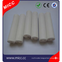 2016 customized OD ID and length 99.5% 95% ceramic heater element for thermocouple protection
