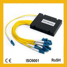 1X8 Single Mode Mini Modul ABS Kassette Gpon FTTH Fiber Optic PLC Splitter