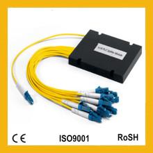 1X8 Single Mode Mini Module ABS Cassette Gpon FTTH Fiber Optic PLC Splitter