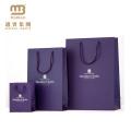 Niedrige Kosten-kundengebundene gemachte Druckqualitäts-Mattschwarz-Luxuspapier-Einkaufstasche mit kundenspezifischem Logo-Drucken