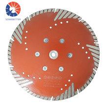 China Wholesale 115mm hot pressed Tornado turbo cutting saw blade concrete cutting disc asphalt diamond blade