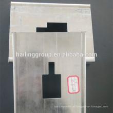Trockenbau-Kanal C Galvanisierte leichte Stahlkeil-Profile Metallbolzen und -spur