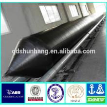 tubo inflável de borracha natural do pontão para a instalação da ponte