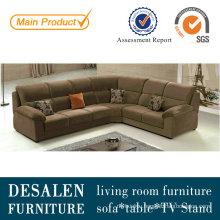 Brown European Fabric Sofa (227)