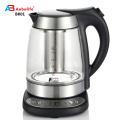 new product 1.7Llarge capacity ETLUL kitchen appliance stainless steel electric glass water kettle with auto cut off system